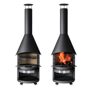 The MERCATUS® BBQ-Fireplace range are designed and built to the highest German standard.